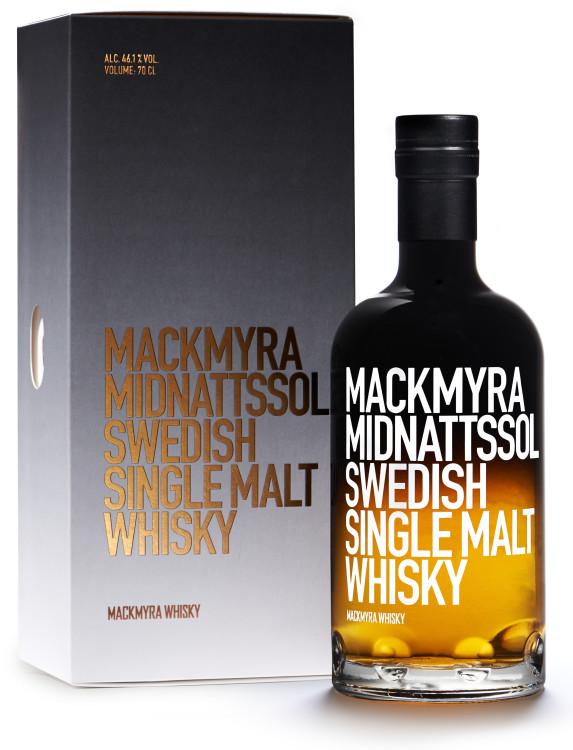 Mackmyra Midnattssol (Box) 30x40 frilagd