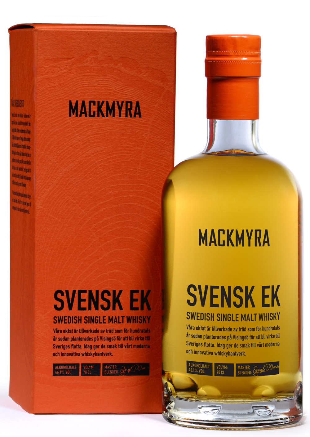 Svensk Ek flaska+box